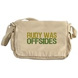 Rudy Was Offsides Messenger Bag