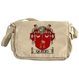 Quinn Coat of Arms Messenger Bag