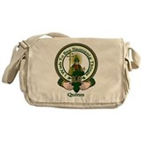 Quinn Clan Motto Messenger Bag