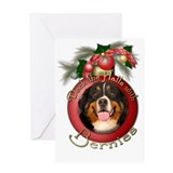 Christmas - Deck the Halls - Bernies Greeting Card