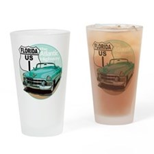 The Florida US Route 1 Drinking Glass
