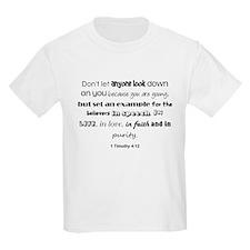 1 Timothy 4:12 T-Shirt