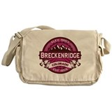 Breckenridge Raspberry Messenger Bag