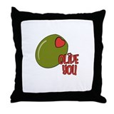 Olive you Throw Pillow