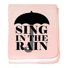 'Sing in the Rain' baby blanket