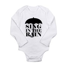 'Sing in the Rain' Long Sleeve Infant Bodysuit