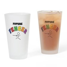 Future Fencer Drinking Glass