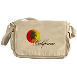 California Sunset Messenger Bag