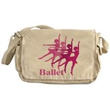 Ballerinas Dance Ballet Messenger Bag