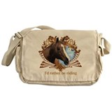 Cute Equestrian Messenger Bag