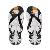 Polish White Eagle Flip Flops