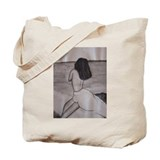 Unique Chalk drawing Tote Bag