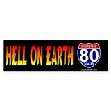 I-80 Hell on Earth Bumper Bumper Sticker