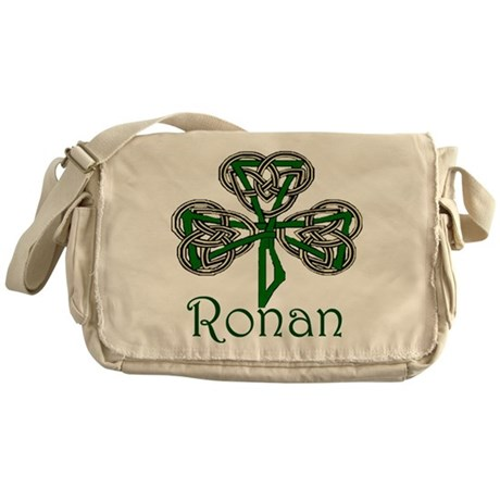 Ronan Shamrock Messenger Bag