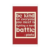 Be Kind by Plato Decal