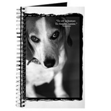 Cute Pet beagle Journal
