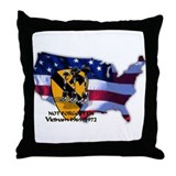 1st Cavalry Division Throw Pillow