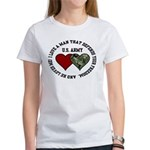 US Army - I love a man that.. Women's T-Shirt