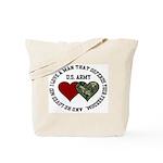 US Army - I love a man that.. Tote Bag