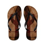 Western Flip Flops