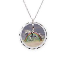 Rainbow Riding Necklace