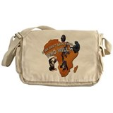 Save The Chimps Messenger Bag