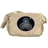 Celestial Triskele Messenger Bag