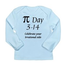 Pi Day - March 14 Long Sleeve Infant T-Shirt
