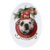 Christmas - Deck the Halls - Bulldogs Ornament (Ov