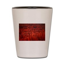 Bryce Canyon Flames Shot Glass
