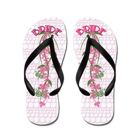 beach gifts beach footwear beach wedding bride flip flops
