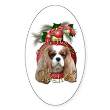 Christmas - Deck the Halls - Cavaliers Decal