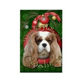 Christmas - Deck the Halls - Cavaliers Rectangle M
