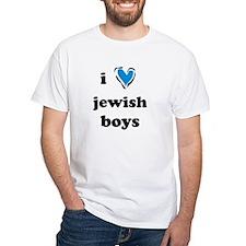 I <3 Jewish Boys Shirt
