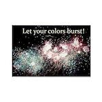 Inspirational Firework Rectangle Magnet (100 pack)