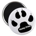 """Husky Pride 2.25"""" Magnet (10 pack)"""