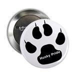 "Husky Pride 2.25"" Button (10 pack)"