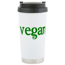 Simple Vegan Ceramic Travel Mug