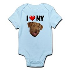 I Love My Chesapeake Bay Retr Infant Bodysuit