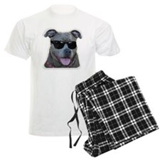 Pitbull in sunglasses Pajamas