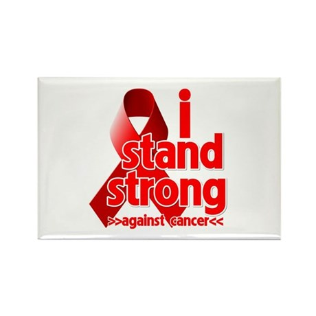 Stand Strong Blood Cancer Rectangle Magnet (100 pa