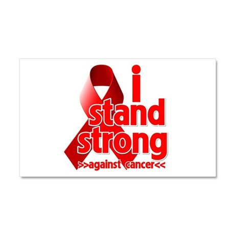 Stand Strong Blood Cancer Car Magnet 20 x 12