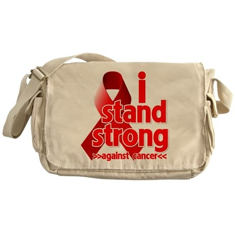 Stand Strong Blood Cancer Messenger Bag