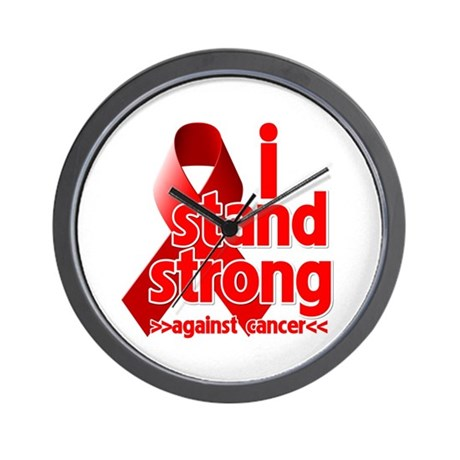 Stand Strong Blood Cancer Wall Clock