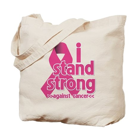 Stand Strong Breast Cancer Tote Bag