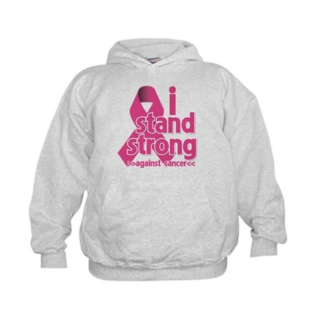 Stand Strong Breast Cancer Kids Hoodie