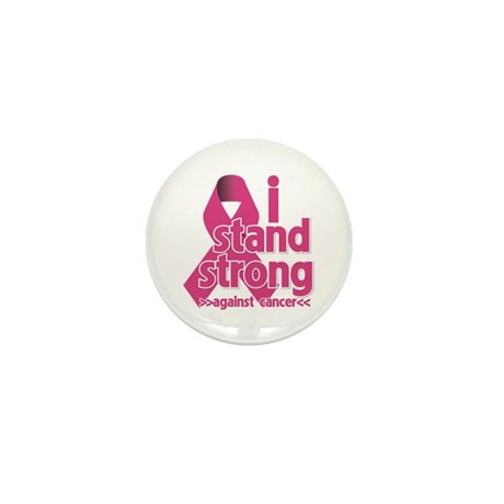 Stand Strong Breast Cancer Mini Button (100 pack)