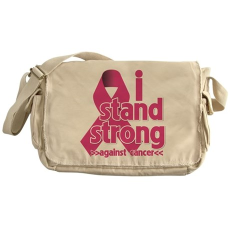 Stand Strong Breast Cancer Messenger Bag