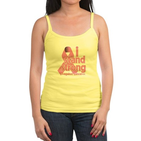 Breast Cancer Stand Strong Jr. Spaghetti Tank