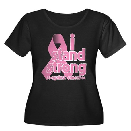 Breast Cancer Stand Strong Women's Plus Size Scoop